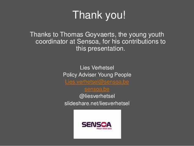 Youth Participation - learned lessons from Sensoa's history