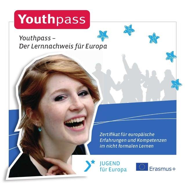 Zertifikat für europäische Erfahrungen und Kompetenzen im nicht formalen Lernen Zertifikat für europäische Erfahrungen und K...