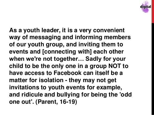 Social Media: The Importance of New Media in the Faith Story