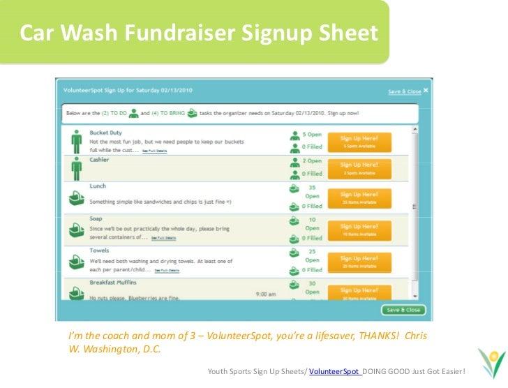 sign up sheets online