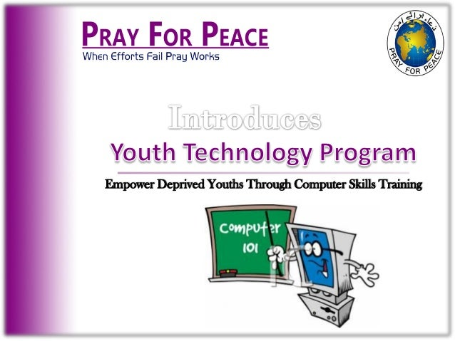 Empower Deprived Youths Through Computer Skills Training