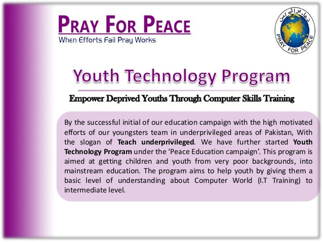Youth technology program Slide 2