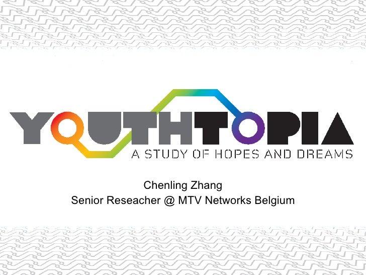 Chenling Zhang Senior Reseacher @ MTV Networks Belgium