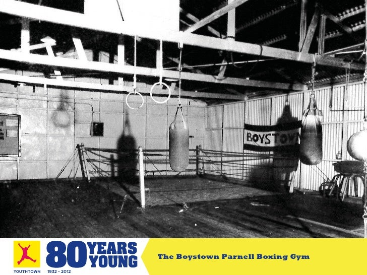 The Boystown Parnell Boxing Gym