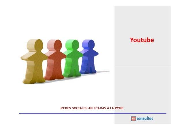YoutubeREDES SOCIALES APLICADAS A LA PYME