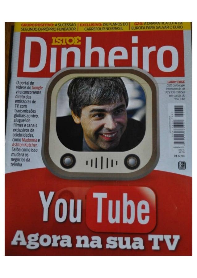 Youtube - agora na sua tv