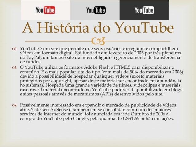 5e290bae87b A História do YouTube ...