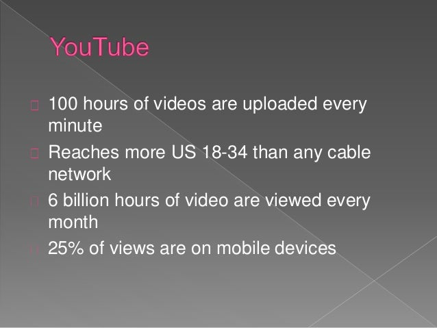 You tube: A brief introduction