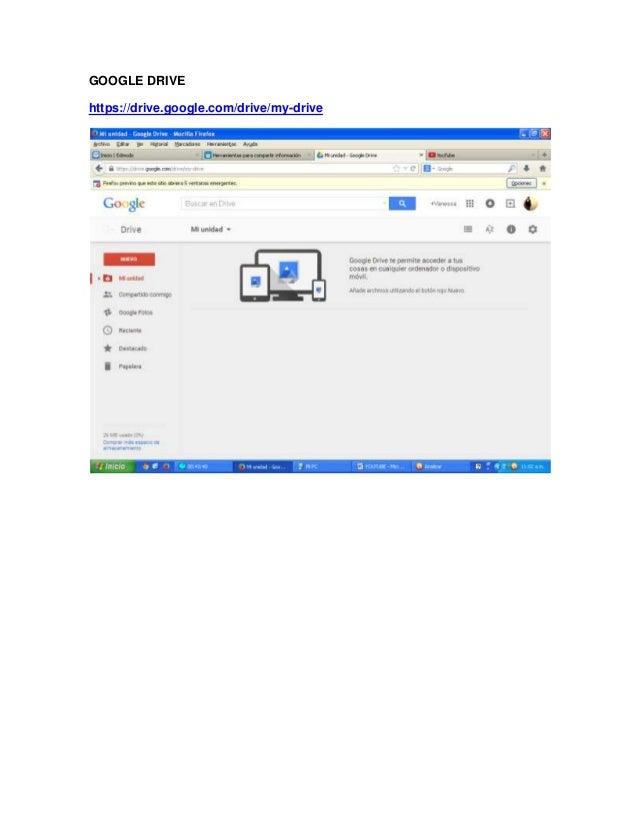 GOOGLE DRIVE https://drive.google.com/drive/my-drive