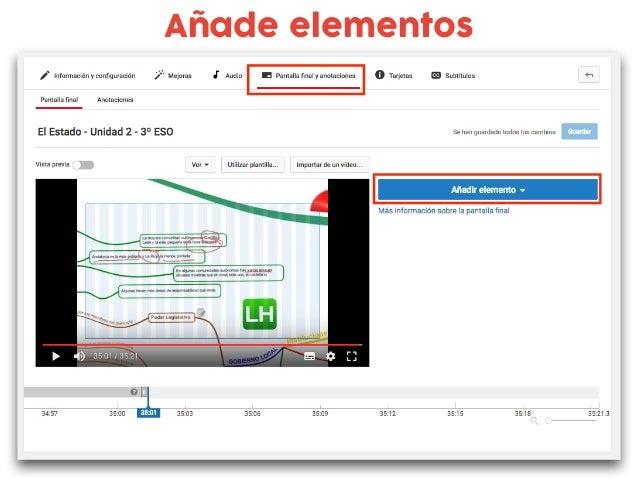 bit.ly/tarjetasdeyoutube Añade tarjetas al vídeo