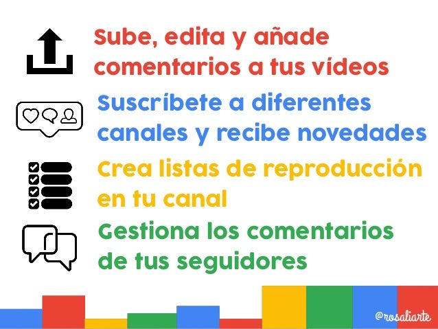 Pulsa en Youtube @rosaliarte@rosaliarte