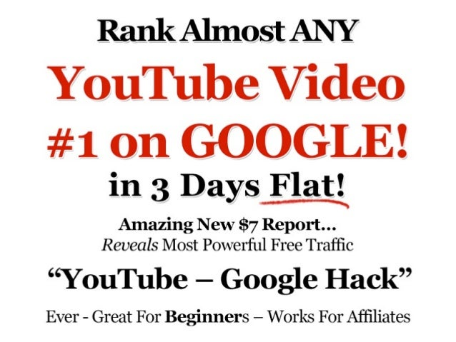 Leads generated by a YouTube video areworth 5X to 10X anordinary lead in sales?