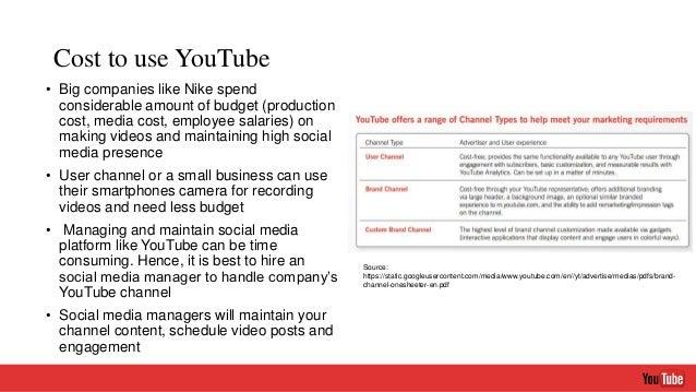 youtube as a marketing tool pdf