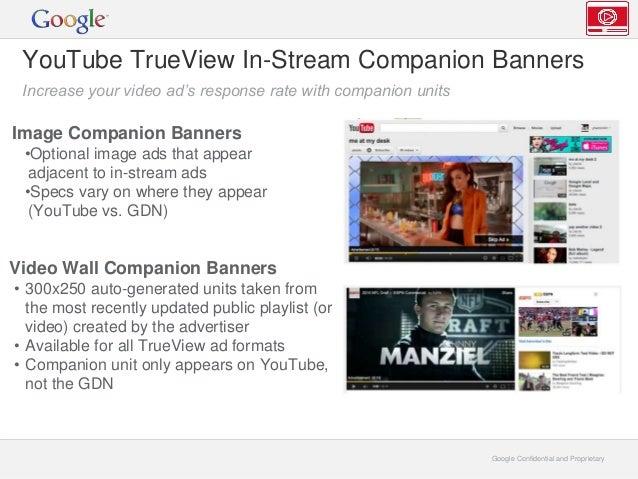 YouTube Ads Products - Digital Media Decks