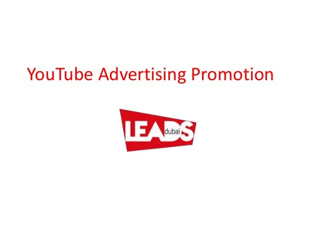 YouTube Advertising Promotion