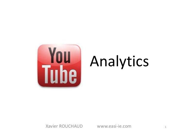 AnalyticsXavier ROUCHAUD    www.easi-ie.com   1