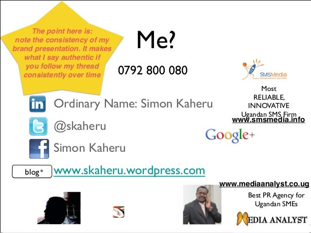 ◆ www.mediaanalyst.co.ug ◆ Confidentiality: The contents of this Presentation remain the property of The Media Analyst Lim...