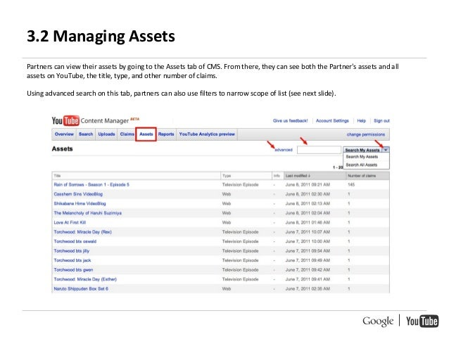 YouTube Content ID Handbook - Google