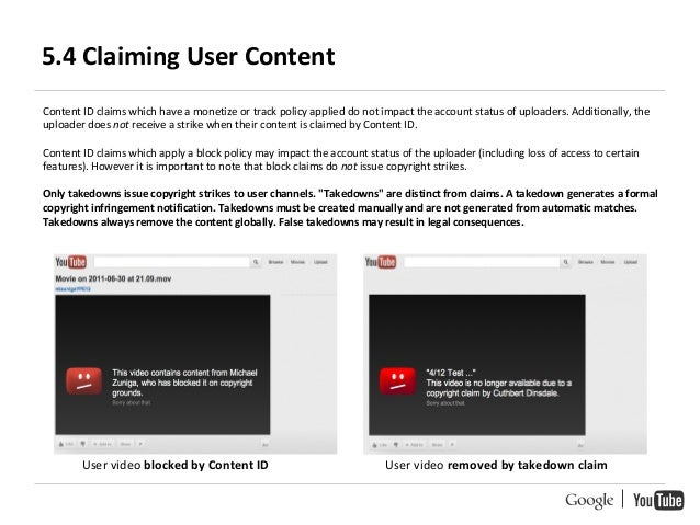 youtube content id handbook google rh slideshare net How to Do YouTube Videos How to YouTube Videos Auto Repair