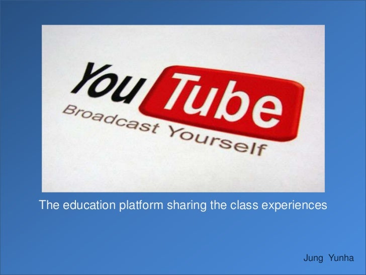 The education platform sharing the class experiences                                               Jung Yunha