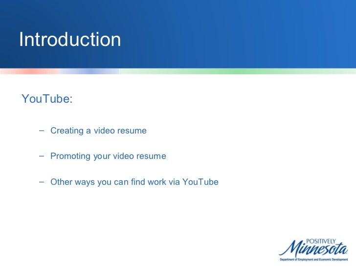 Using YouTube, Pinterest, and Google+ for Job Search Slide 2