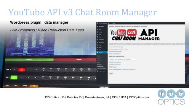 Youtube Live Api V3 Chat Room Manager