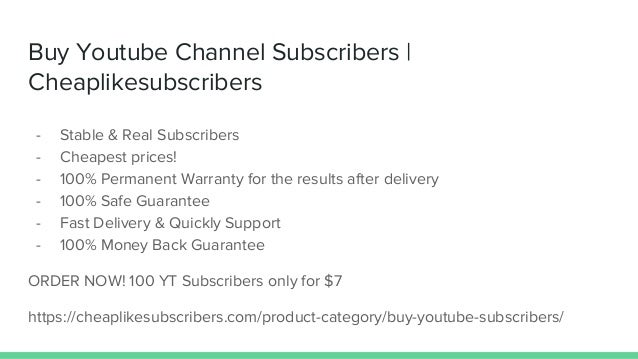 Buy Youtube Subscribers Views Likes and Comments