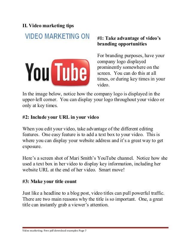 marketing essay pdf examples page 6 7
