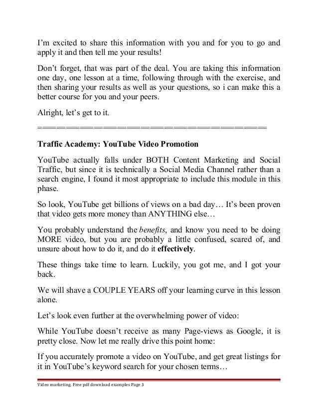 Youtube marketing music Slide 3