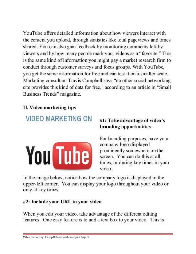 Youtube Instructional Eyeshadow Tattoo Makeup: Youtube Marketing Objectives