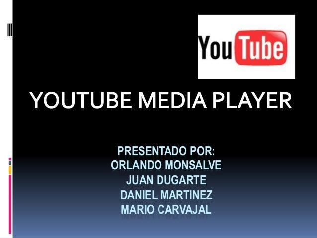 PRESENTADO POR: ORLANDO MONSALVE JUAN DUGARTE DANIEL MARTINEZ MARIO CARVAJAL