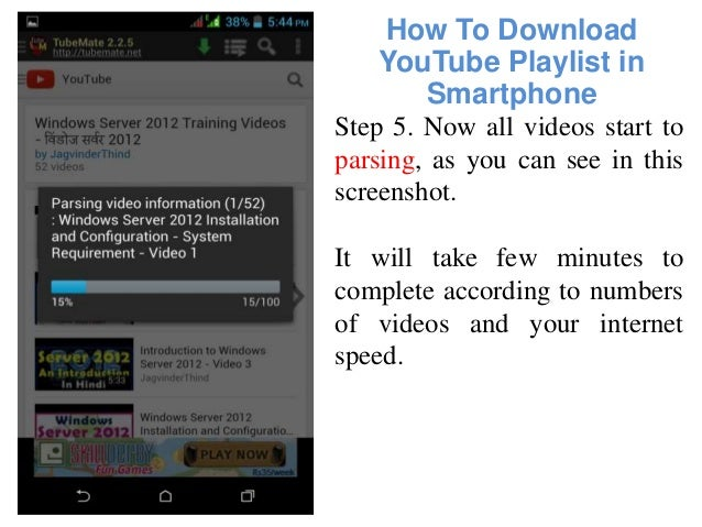 How to download youtube playlist in smartphone android mobile how to download youtube ccuart Image collections