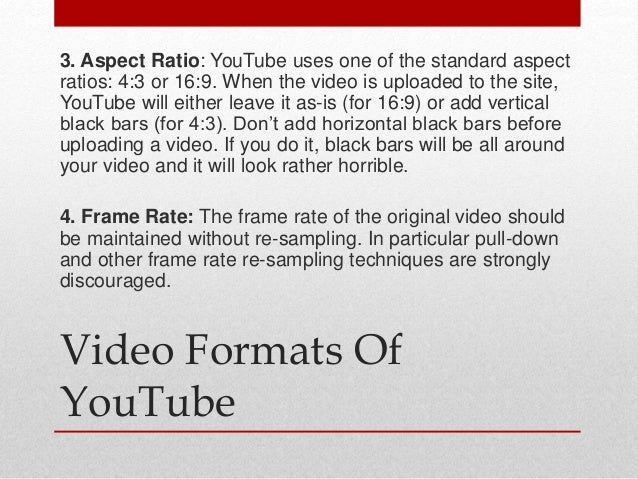 You tube ppt