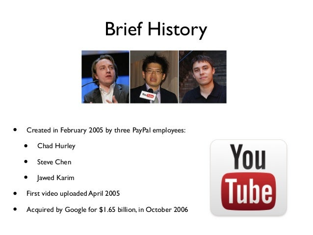 Resultado de imagen para Chad Hurley y Steve Chen first video on youtube