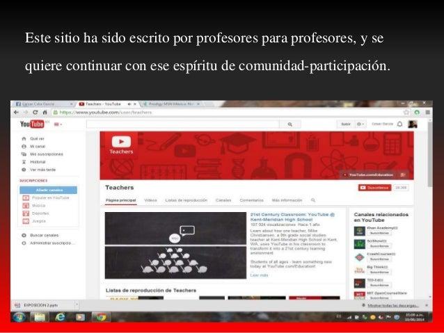 Youtube teachers Slide 3