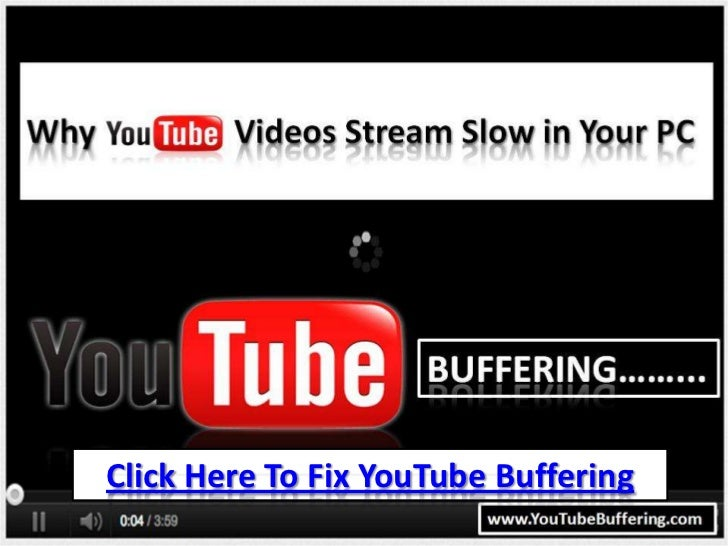 Click Here To Fix YouTube Buffering