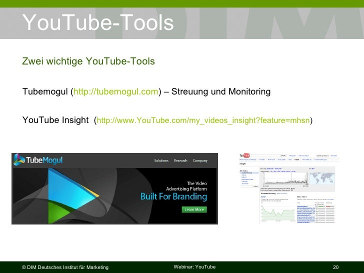 youtube as social media and marketing tools Sprout social is an all-in-one social media marketing tool to help managers better control their efforts it features multi-level access, allowing directorial control, and access from lower-level team members to better coordinate and delegate tasks.