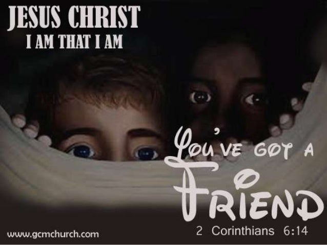 2 Corinthians 6:14 Huwag kayong makipamatok ng kabilan sa mga di nagsisisampalataya: sapagka't anong pakikisama mayroon an...