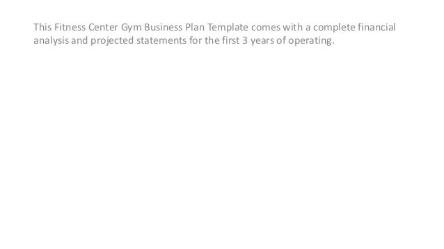 Free gym business plan template kubreforic free gym business plan template starting your own gym business plan ukeancanvas page full example flashek Image collections