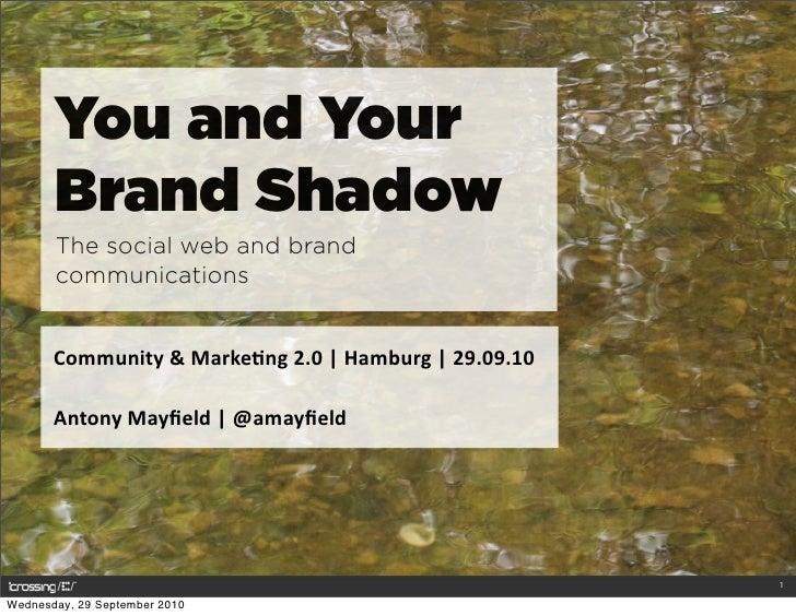 You & your brand shadow   community & marketing 2.0 hamburg