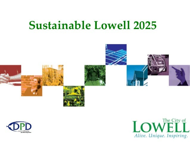 Sustainable Lowell 2025