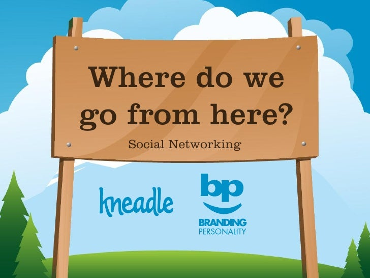 Where do wego from here?  Social Networking