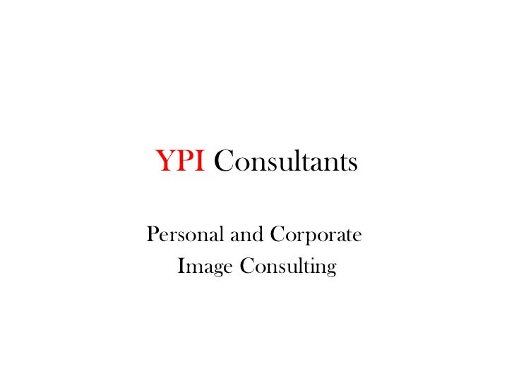 YPI  Consultants Personal and Corporate  Image Consulting