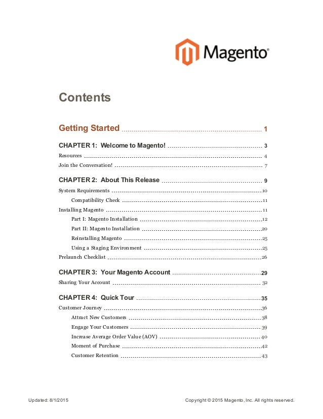 Magento community edition user guide 2 fandeluxe Image collections