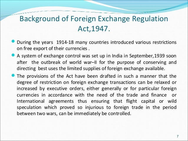 foreign exchange regulation act 1973 and The foreign exchange regulation act 1947 in india bare acts,   schedule of the bangladesh laws (revision and declaration) act, 1973 (act no.