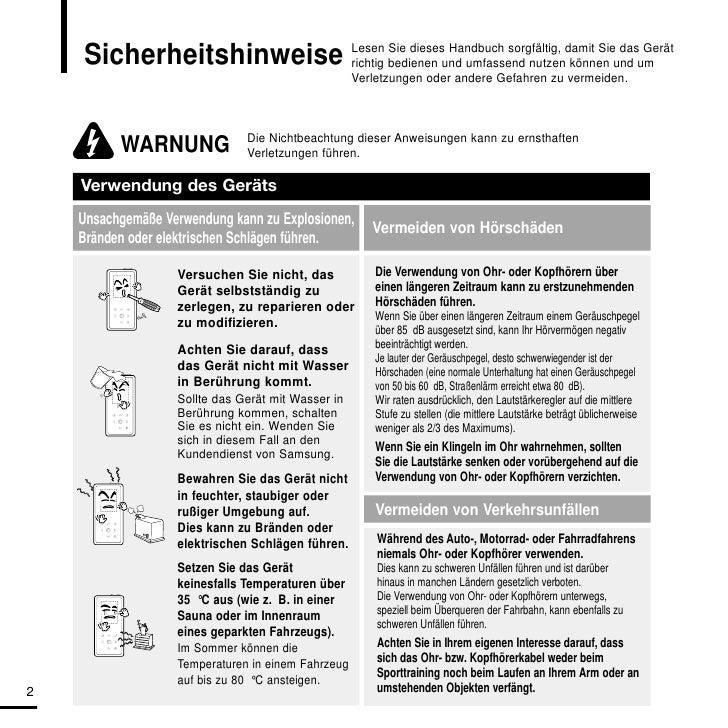 Benutzerhandbuch YP-K5 Slide 2
