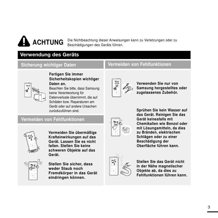 Benutzerhandbuch YP-K5 Slide 3