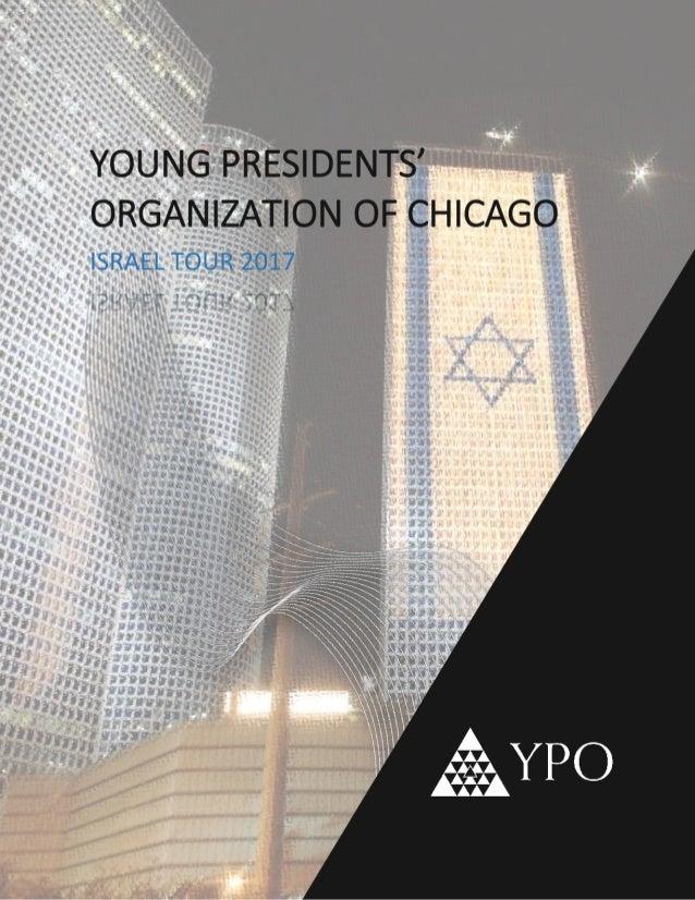YPO Israel Tour Booklet 2017
