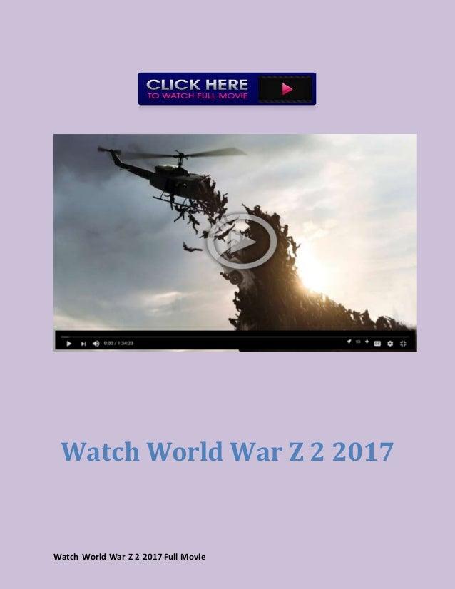 Watch World War Z 2017 Full Movie Hd Online