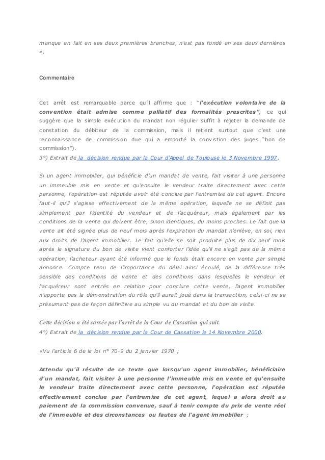 Tout Savoir Sur La Commission De L Agent Immobilier Par Christophe Bu
